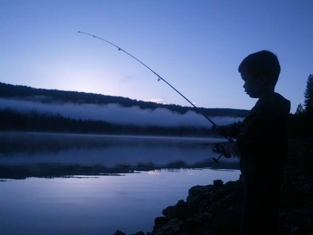 Pesca Bimbo 6 Giugno